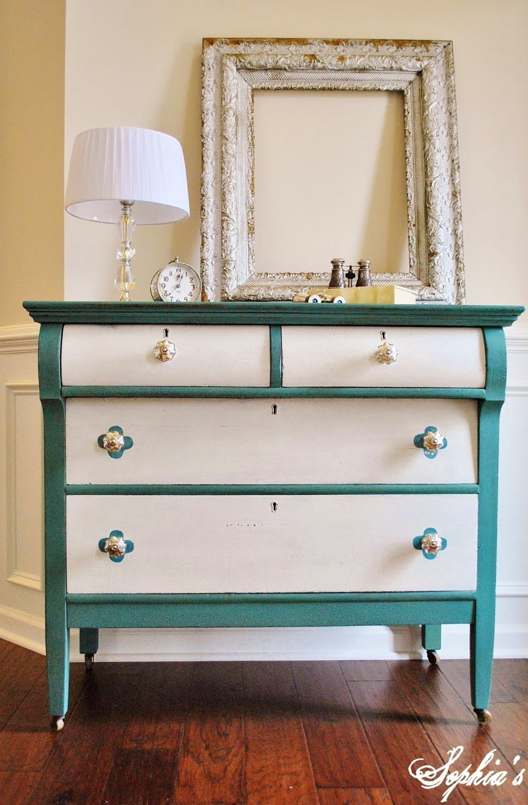 10 Famous Ideas For Painting A Dresser furniture inspiring picture of 3 drawer light green antique 2020