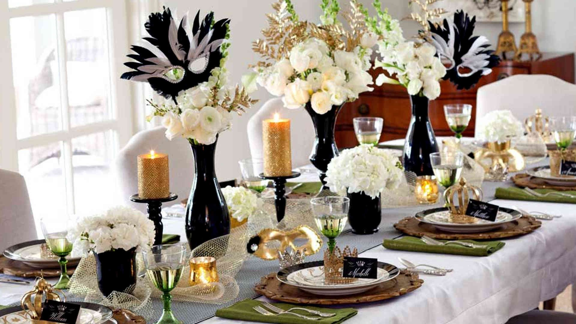 10 Pretty Romantic Ideas For New Years Eve furniture new years eve food idea chinese year table centerpiece 2021