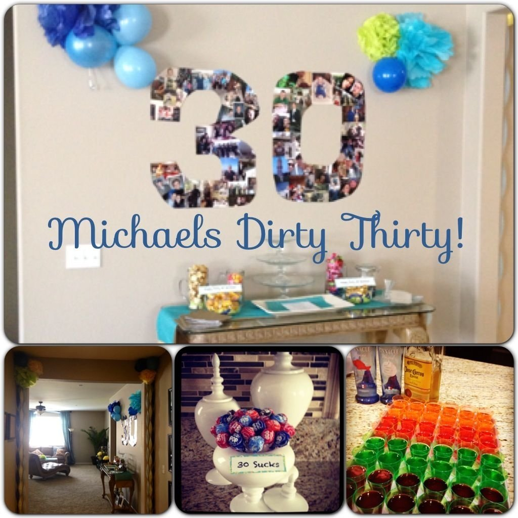 10 Perfect Ideas For Husbands 30Th Birthday G Is Turning 30 Next Year Wuuuup Cant Wait
