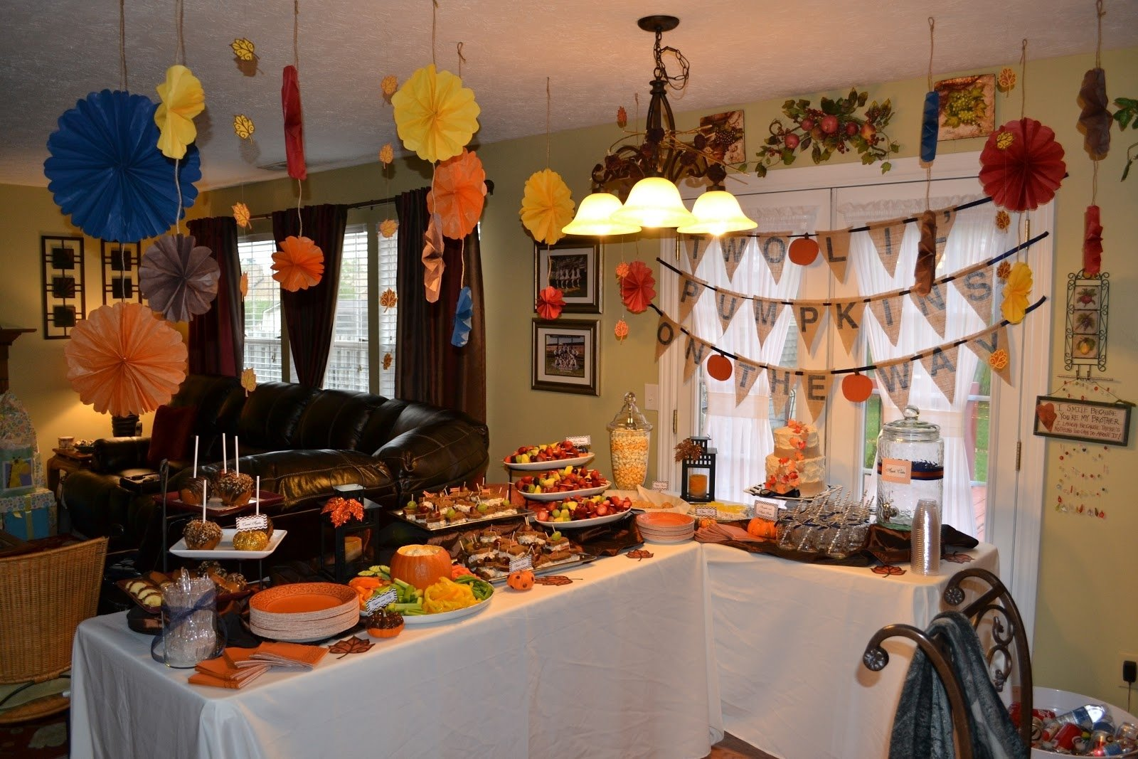 10 Gorgeous Fall Themed Baby Shower Ideas gallery fall baby shower decorations home design ideas fall baby 2020