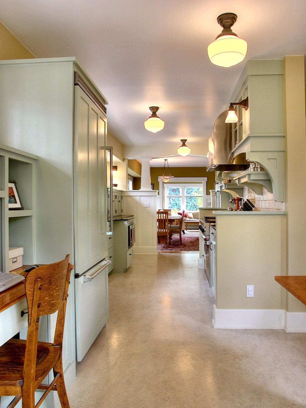 galley kitchen lighting ideas: pictures & ideas from hgtv | hgtv
