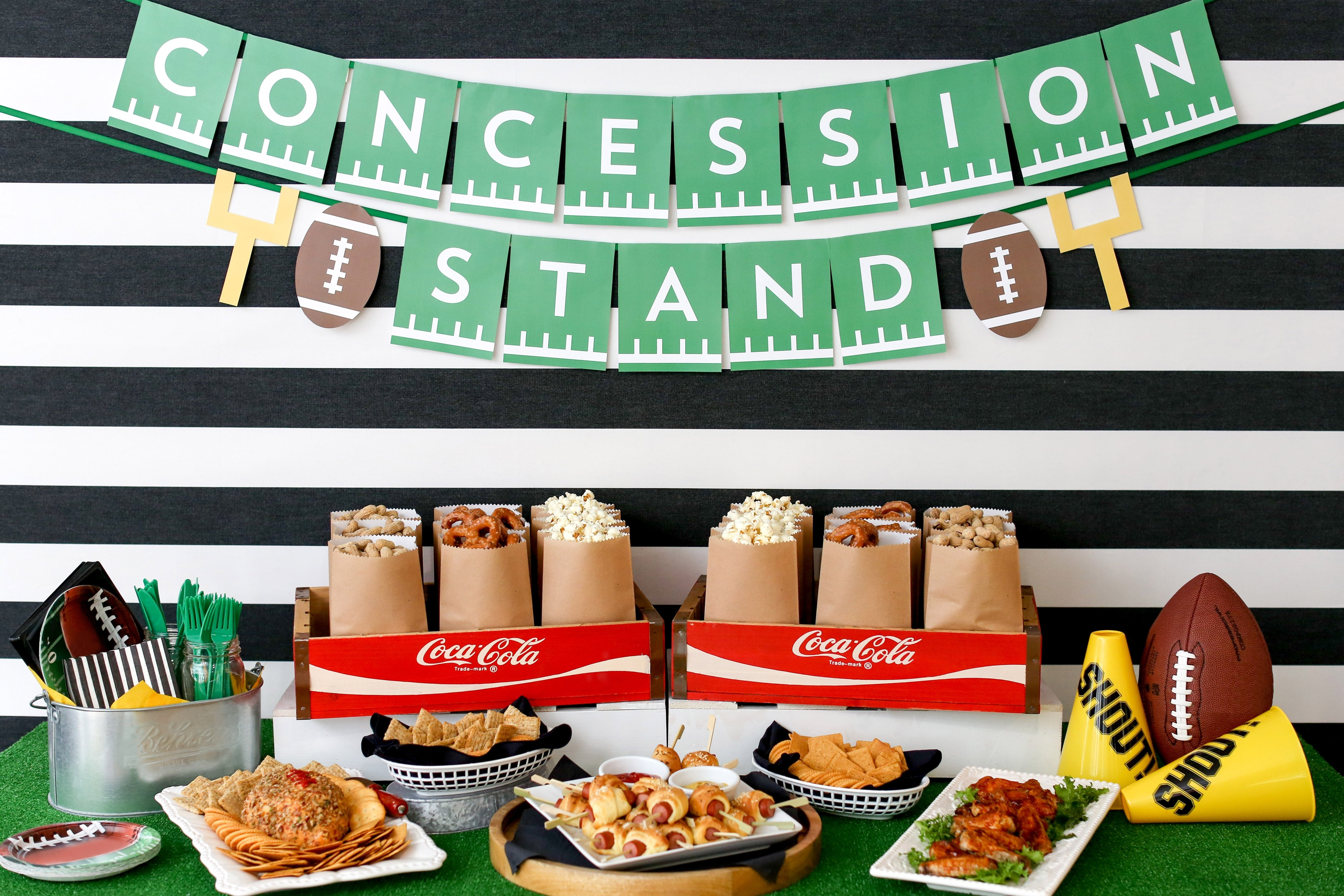 10 Amazing Super Bowl Party Decorating Ideas game day party decor ideas evite