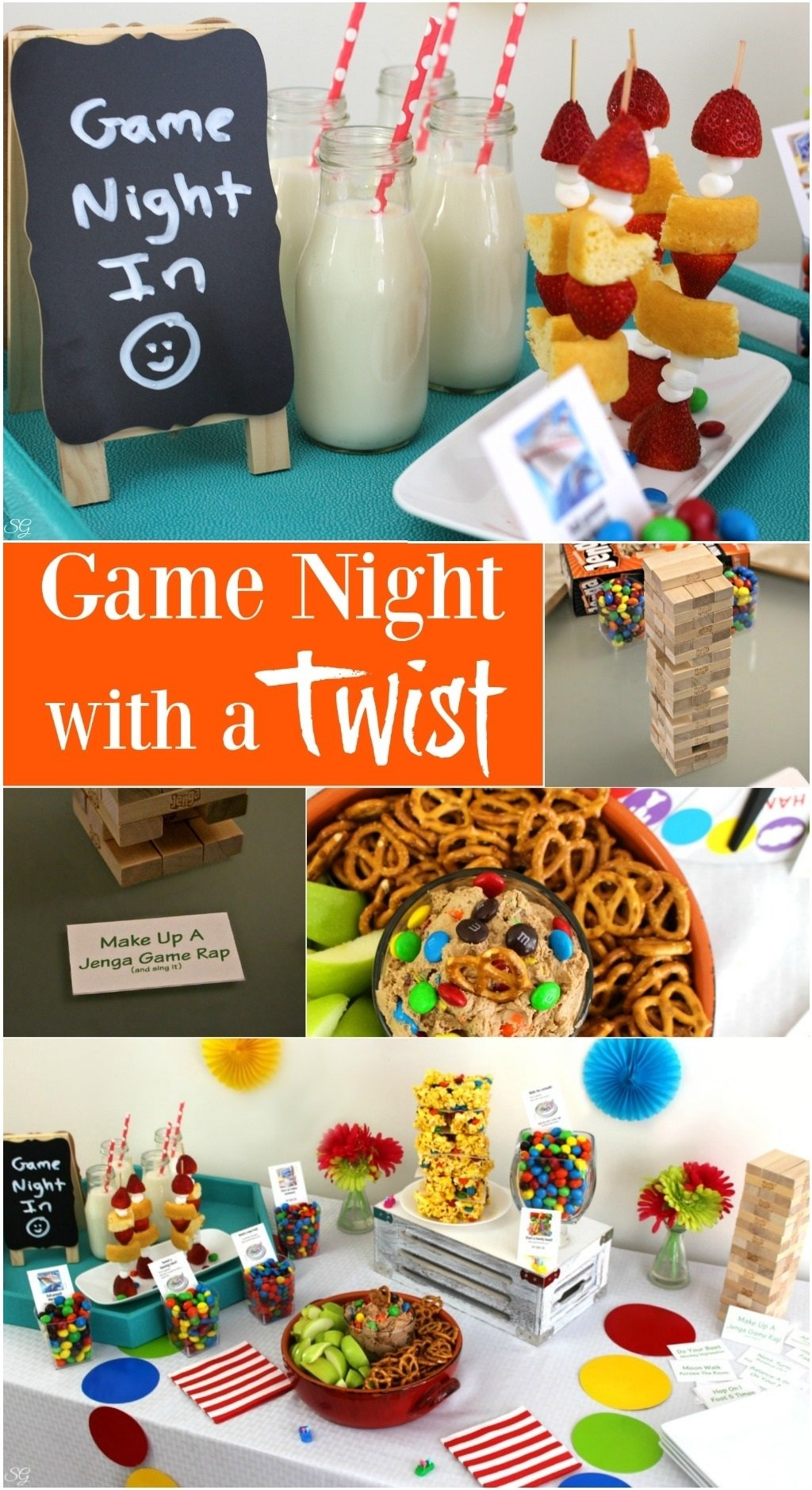 10 Fantastic Game Night Party Ideas For Adults game night in back to the classics