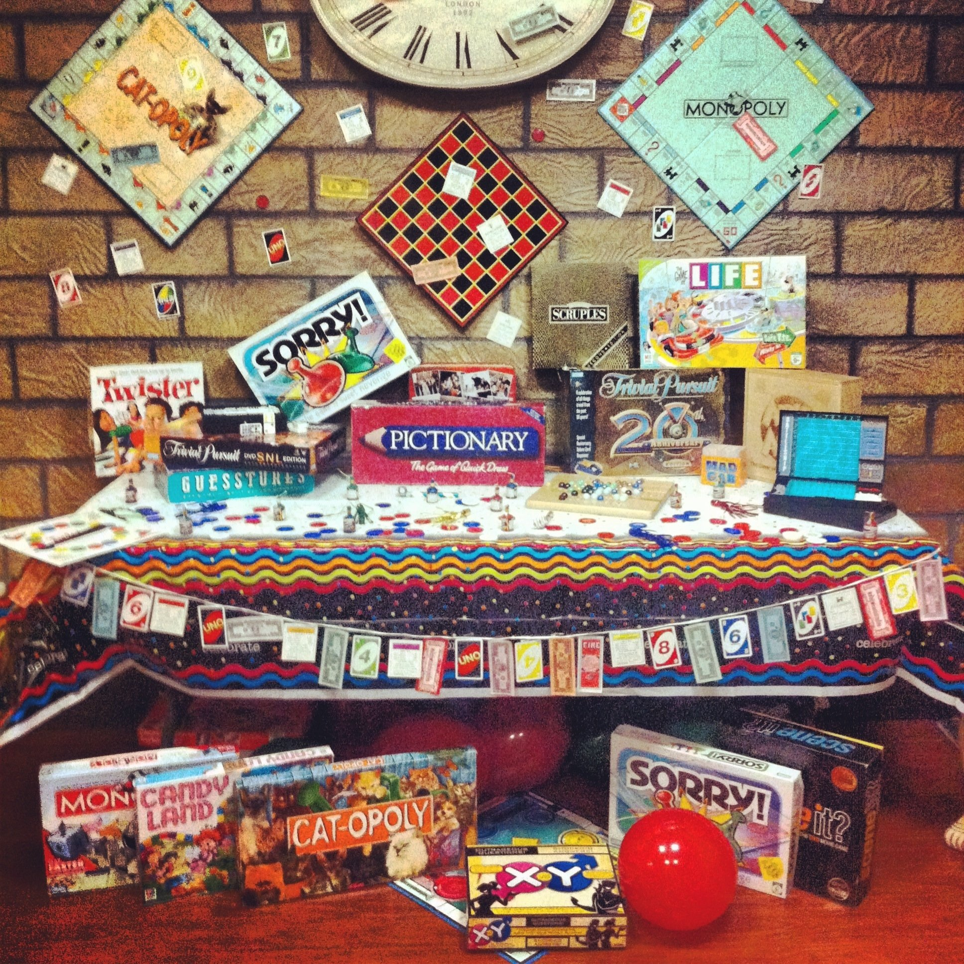 10 Fantastic Game Night Party Ideas For Adults game night party theme decor party pinterest game night