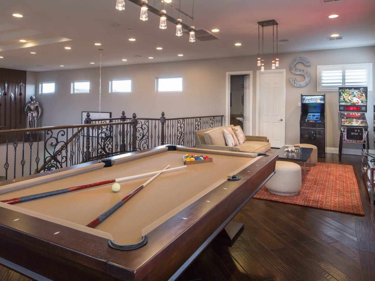 10 Gorgeous Game Room Ideas For Adults %name