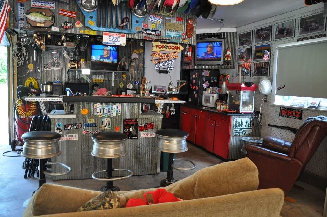 10 Most Recommended Garage Remodeling Ideas Man Cave garage ideas man cave room design ideas