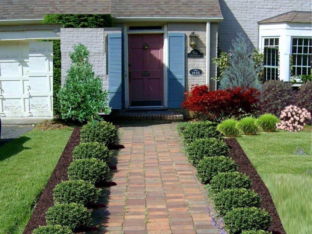 10 Attractive Low Maintenance Landscaping Ideas For Front Yard garden design small front yard landscaping ideas low maintenance 1 2021