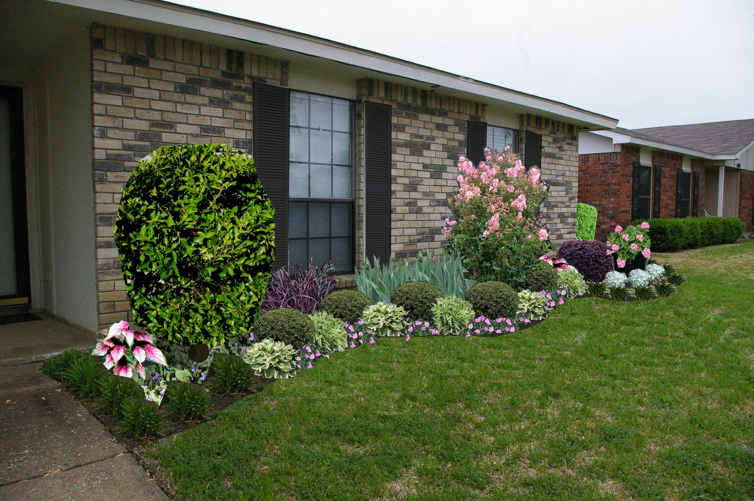 10 Nice Ideas For Front Yard Landscaping garden front yard landscaping ideas front yard landscape ideas 1 2020