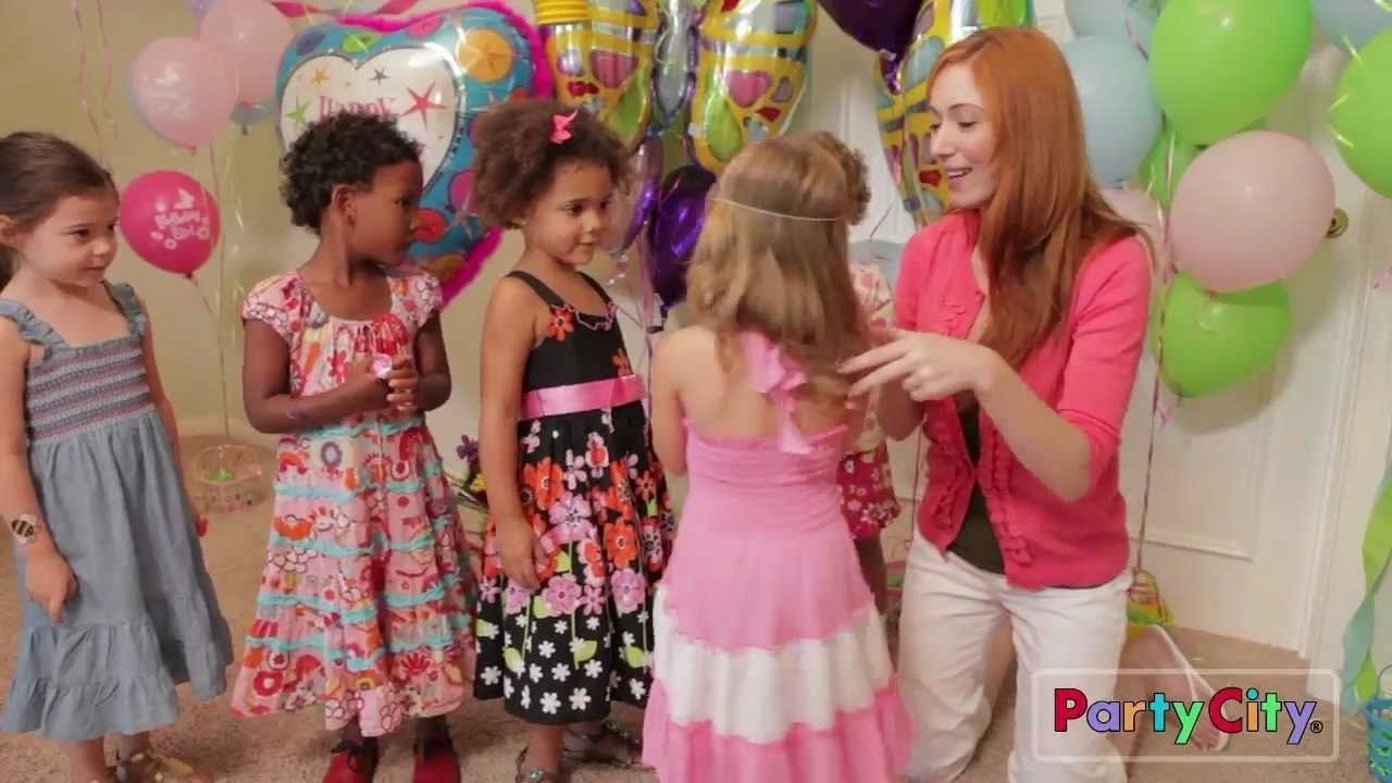 10 Famous Birthday Party Ideas For Girls Age 9 garden girl birthday party ideas from party city youtube 7