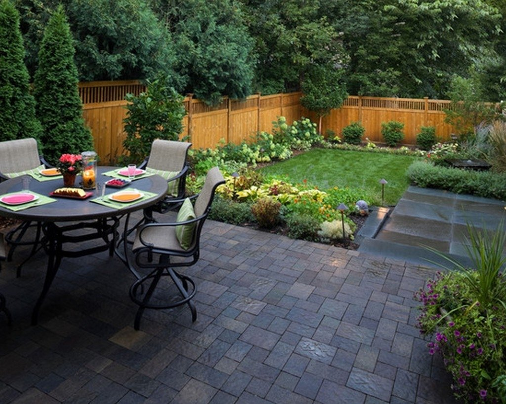 10 Attractive Landscaping Ideas For Small Yards garden ideas backyard landscaping ideas for small yards unique 1 2020