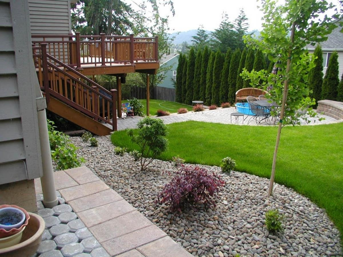 10 Fashionable Landscape Ideas Front Of House garden ideas front house plain landscaping design for simple of in 2020