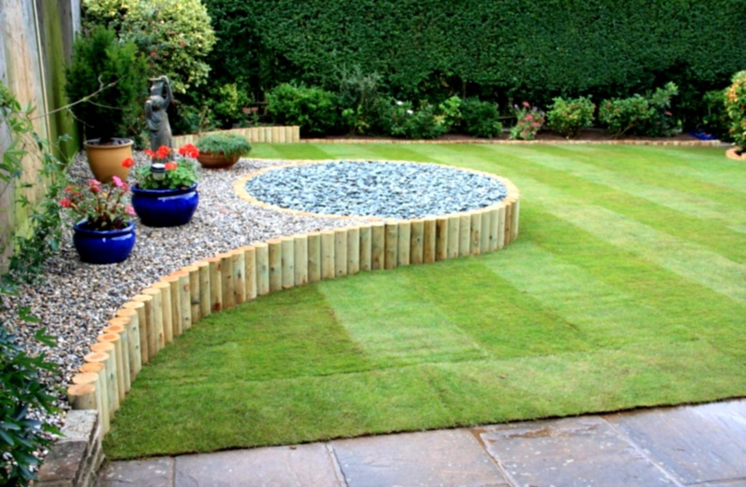 10 Pretty Cheap And Easy Backyard Ideas garden landscaping ideas best about backyard on amazing cheap 2020