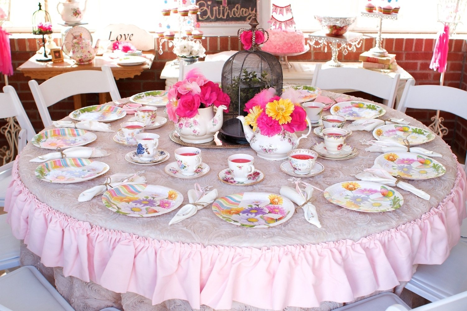 10 Stylish Princess Tea Party Birthday Ideas garden tea party classy clutter 4 2020