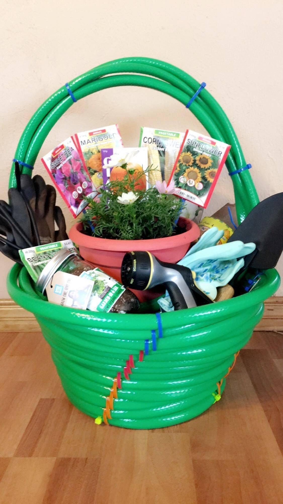 10 Cute Theme Basket Ideas For Silent Auction garden themed silent auction basket themed gift baskets 2021