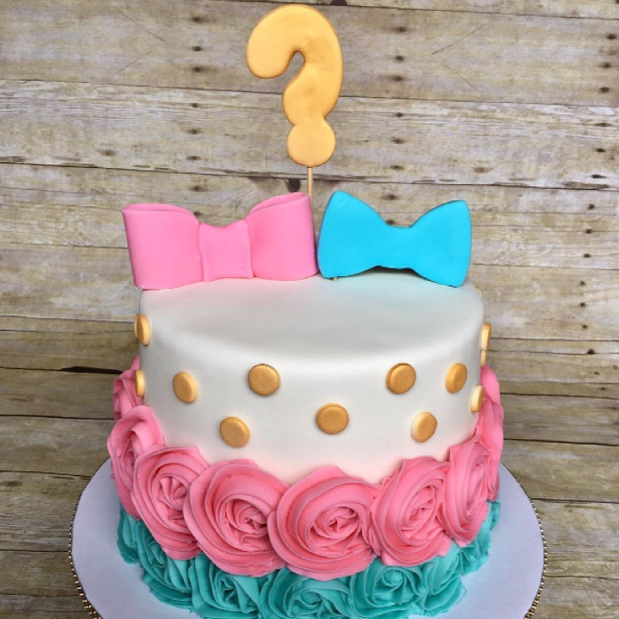 10 Beautiful Baby Gender Reveal Cake Ideas gender reveal party cakes popsugar moms 1 2020