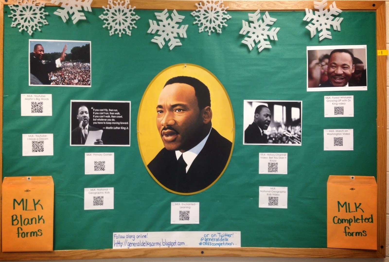 10 Cute Martin Luther King Bulletin Board Ideas general delks army black history board competition 1