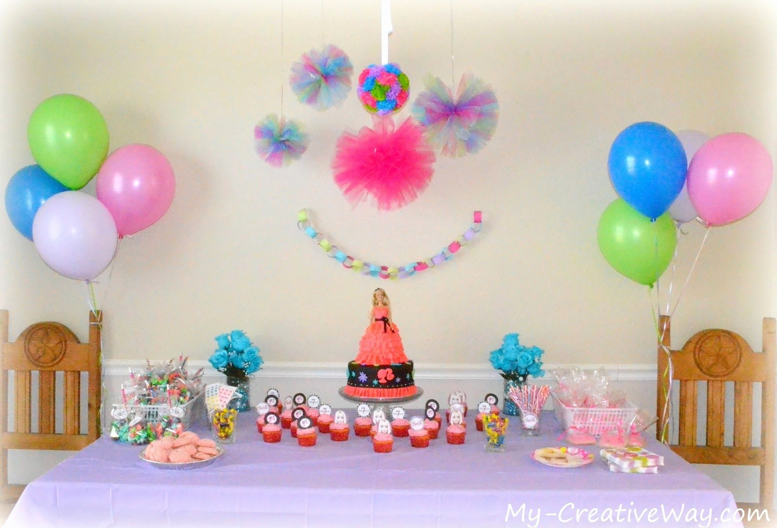 10 Attractive At Home Birthday Party Ideas