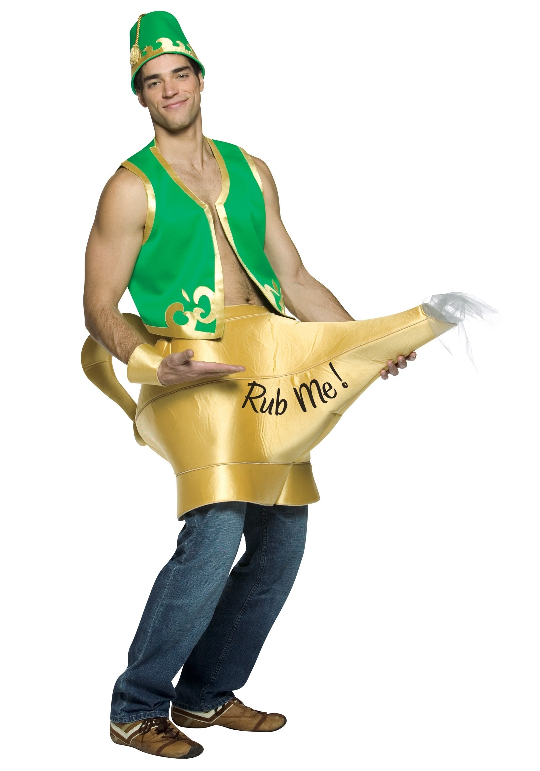 10 Beautiful Sexy Costume Ideas For Men genie and magic lamp costume 2020