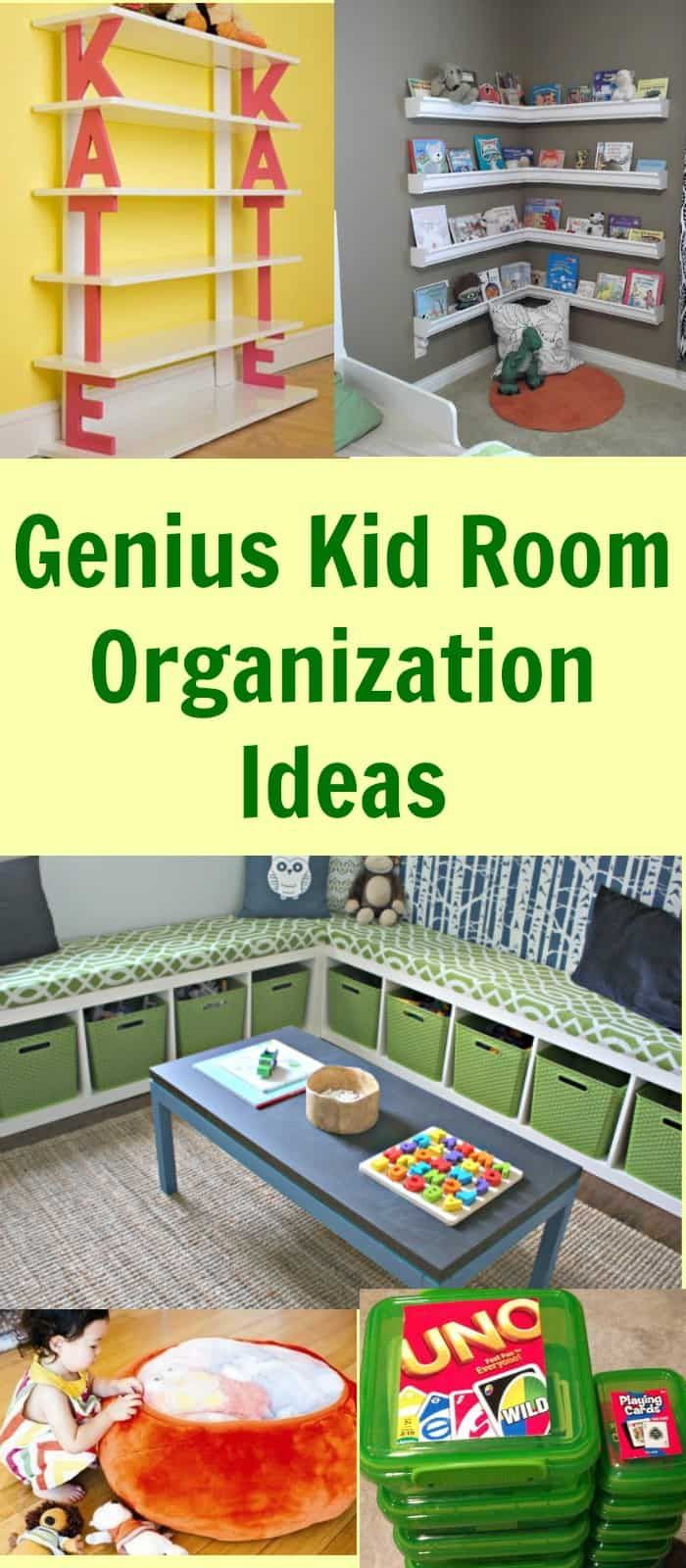 10 Fabulous Organizing Ideas For Kids Rooms genius kid room organization ideas organization and foster care 2021