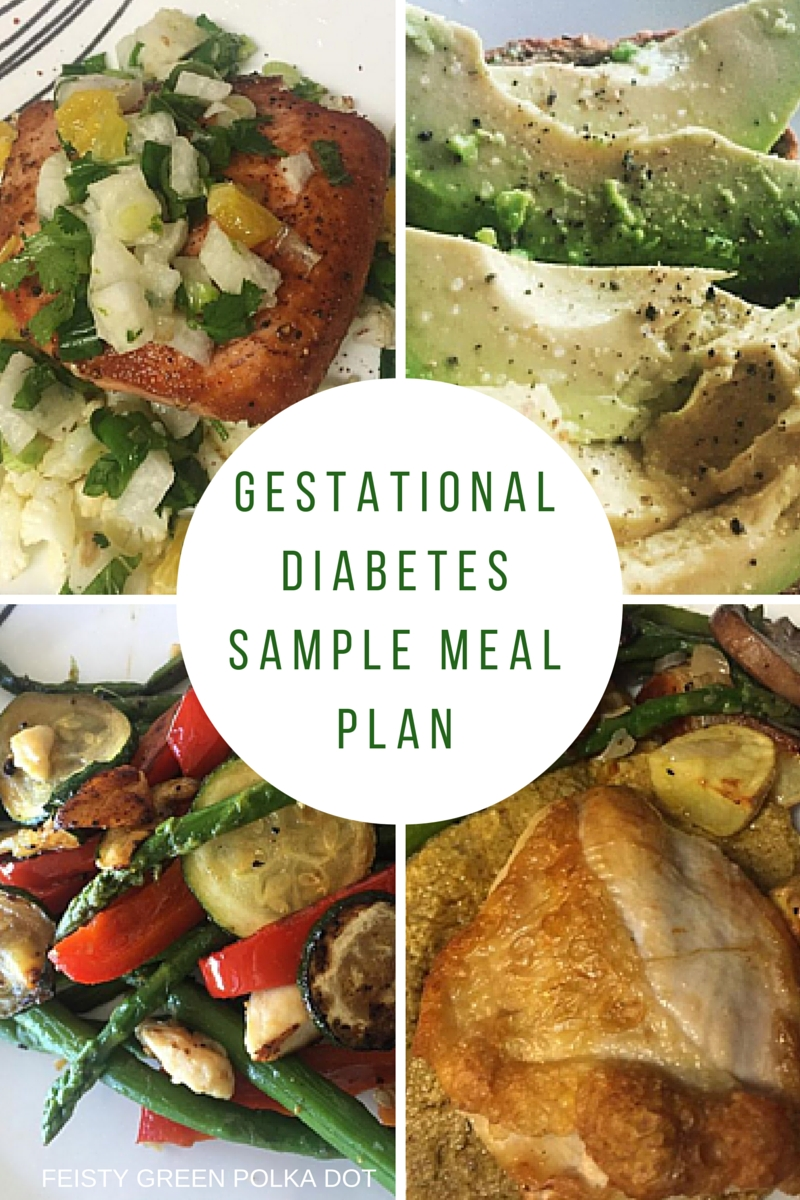 gestational diabetes sample meal plan | gestational diabetes