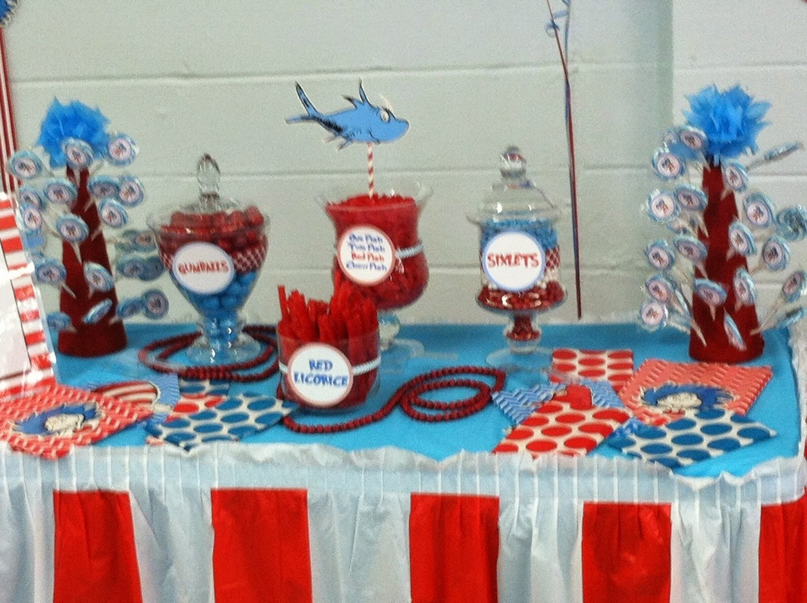 10 Lovely Thing 1 And 2 Birthday Party Ideas Get Dr Seuss First Baby Shower