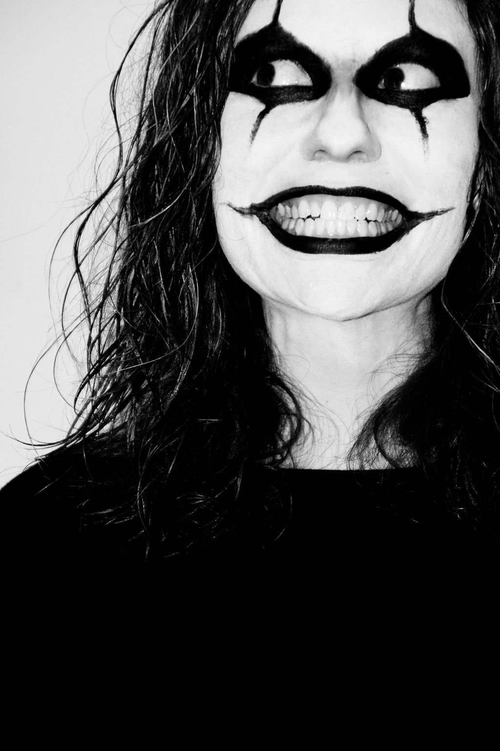 get good black and white face paint ideas picture wallpaper idea is