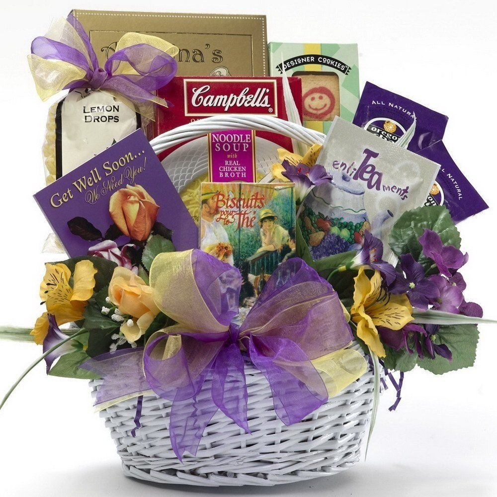 10 Awesome Get Well Soon Gift Ideas get well soon gift basket idea gift baskets pinterest basket 1