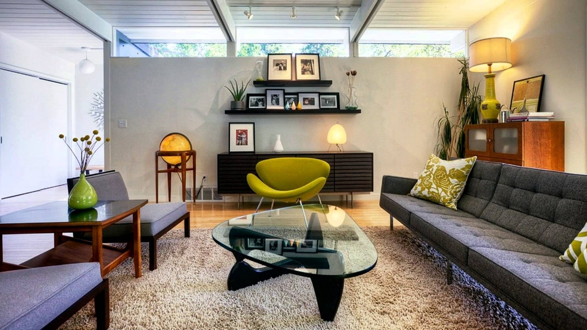10 Unique Mid Century Modern Decorating Ideas giant night lamps in bedroom mid century modern living room ideas 2020