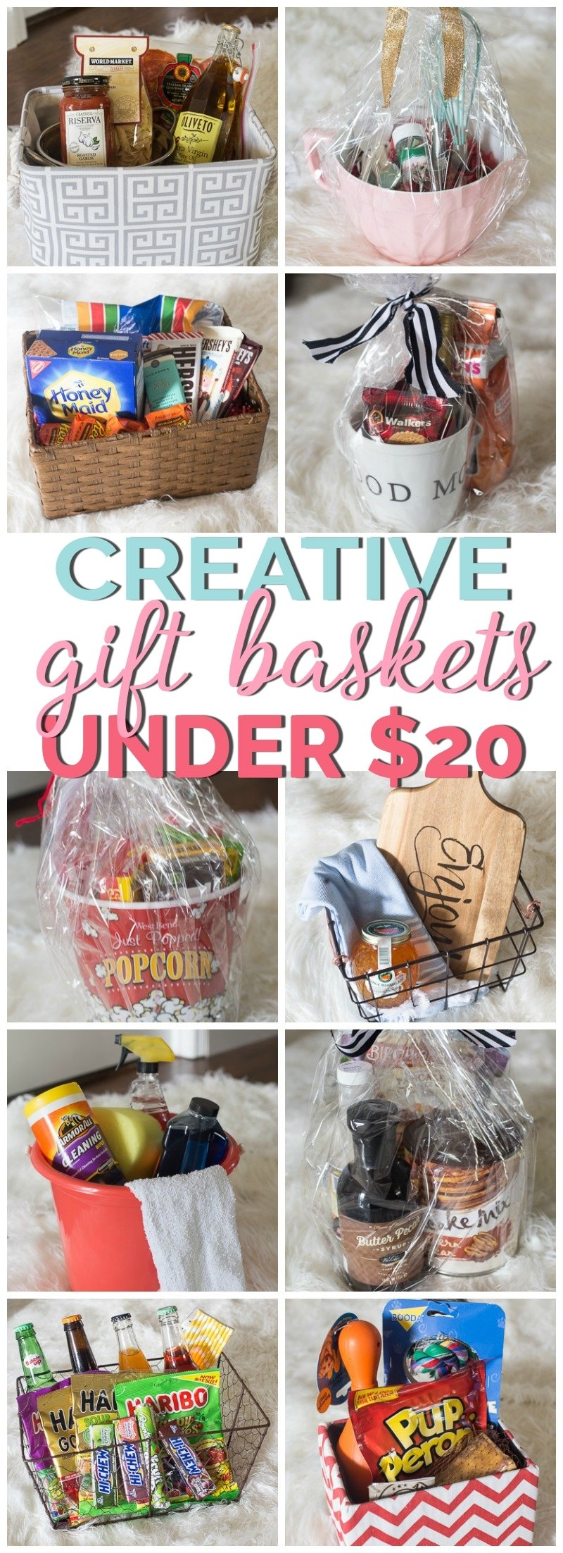 10 Fashionable Ideas For A Gift Basket gift basket ideas under 20 2020