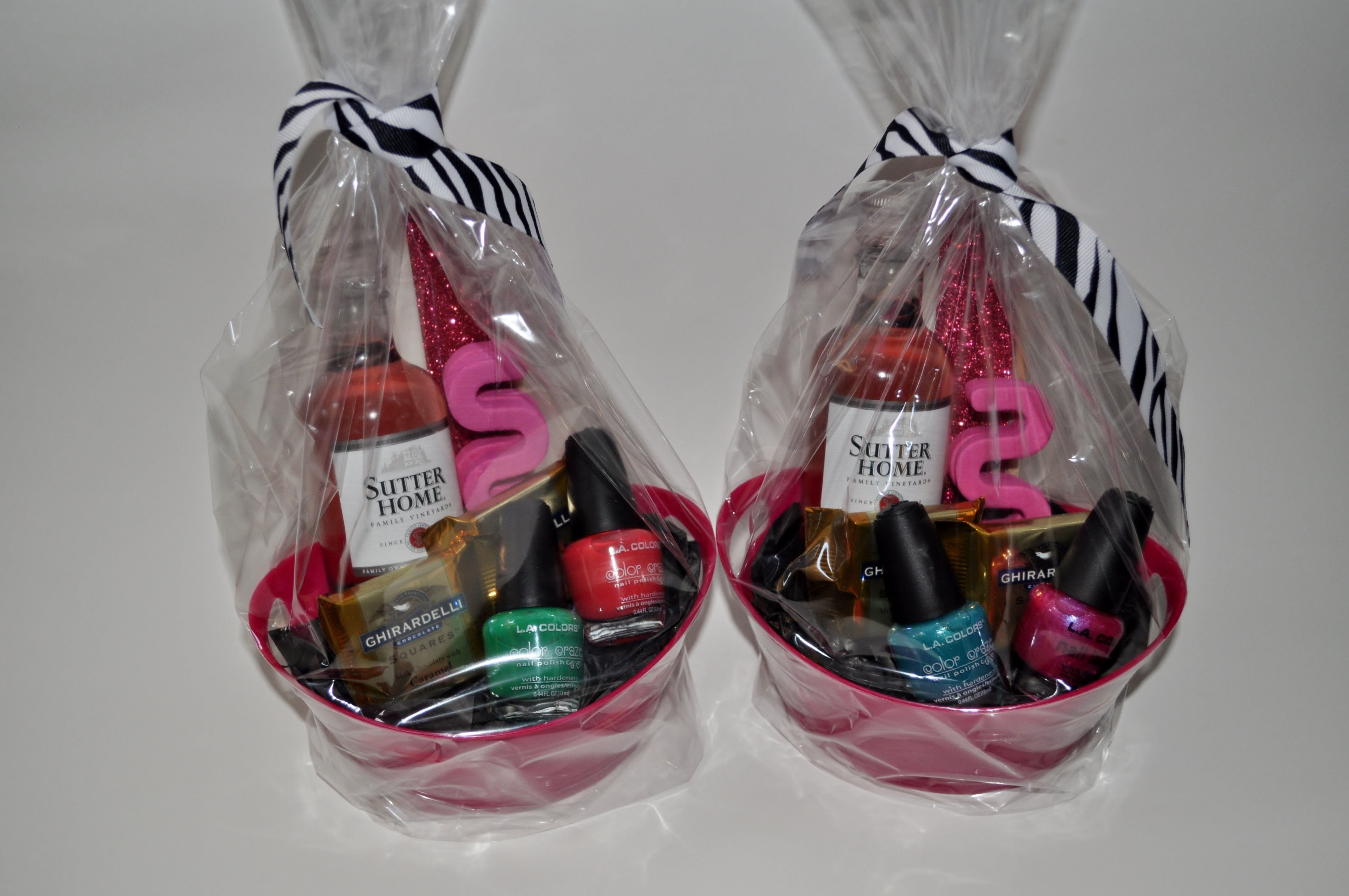 10 Lovely Girls Night Out Gift Ideas gift baskets for girls night out alexis cailey pinterest 2020