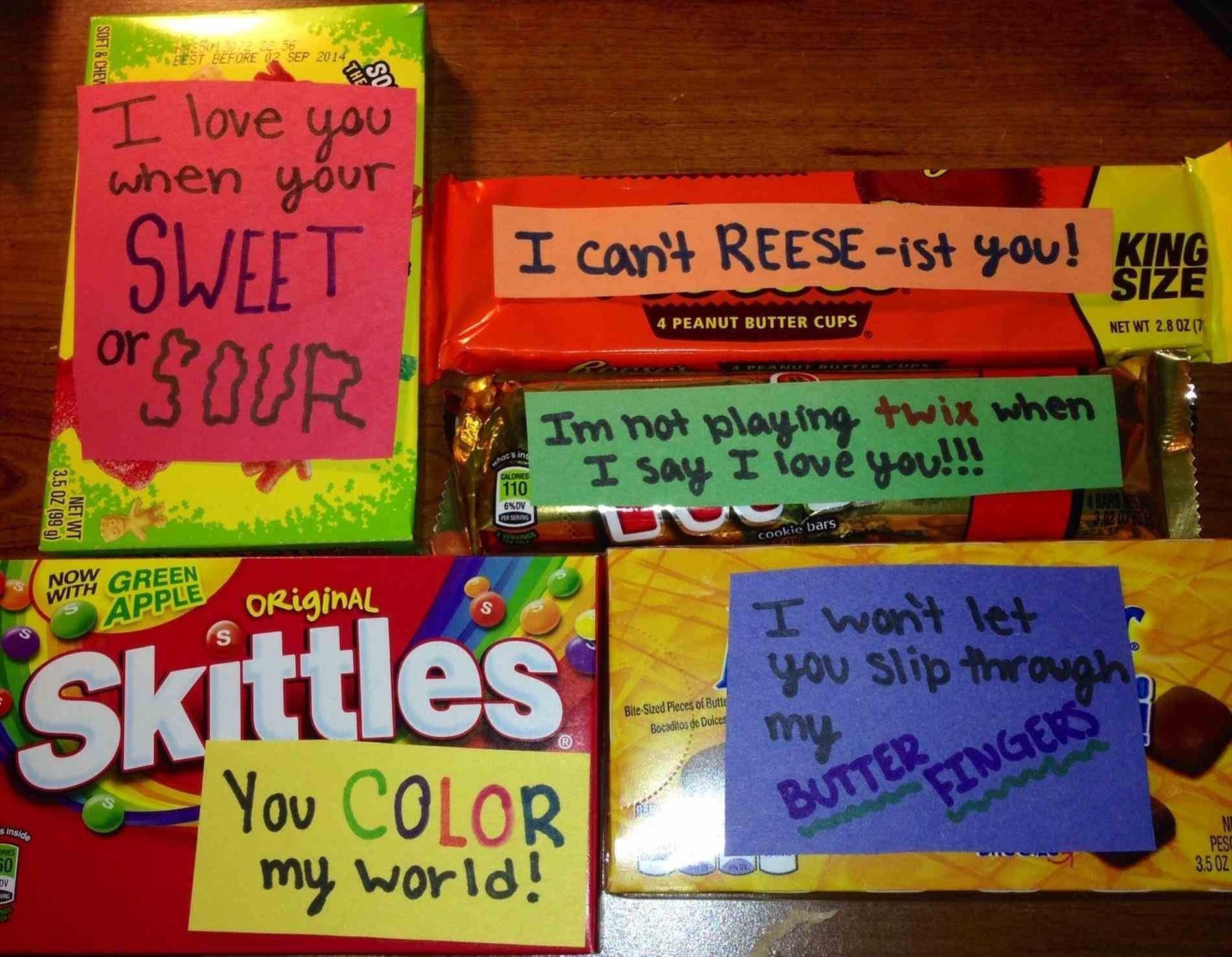10 Attractive Cute Birthday Ideas For Your Boyfriend Gift Candy Bar Cards Rhcom Boyfriends