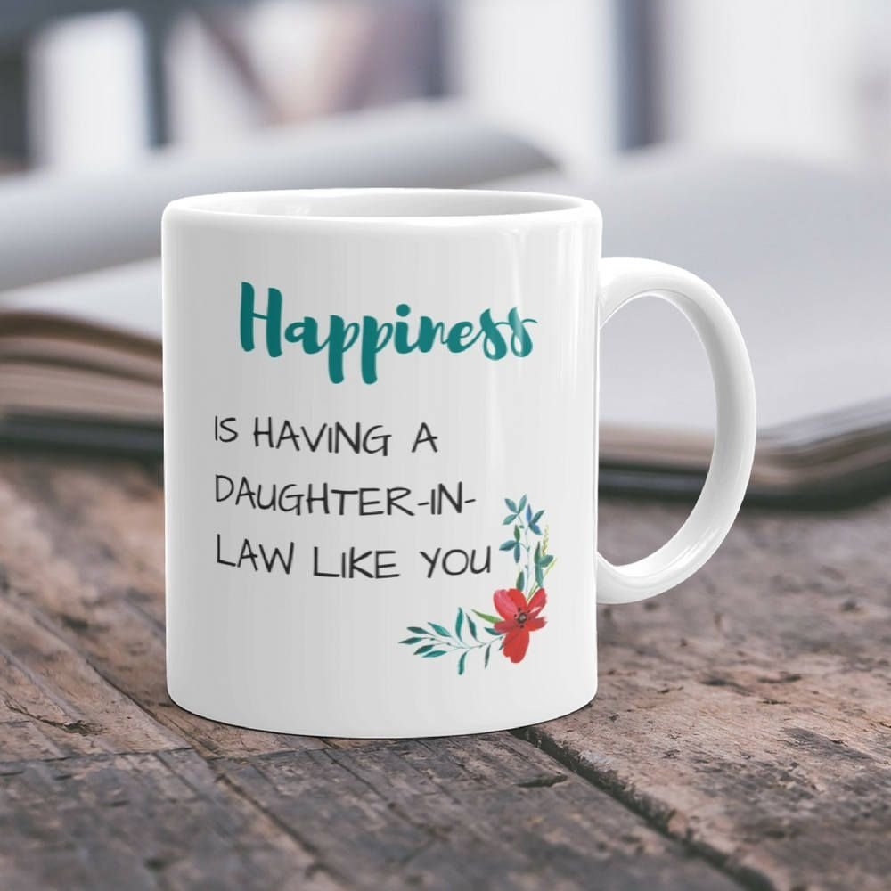 10 Stylish Gift Ideas For Daughter In Law gift daughter in law mug daughter in law gift idea wedding gift mug 1 2020