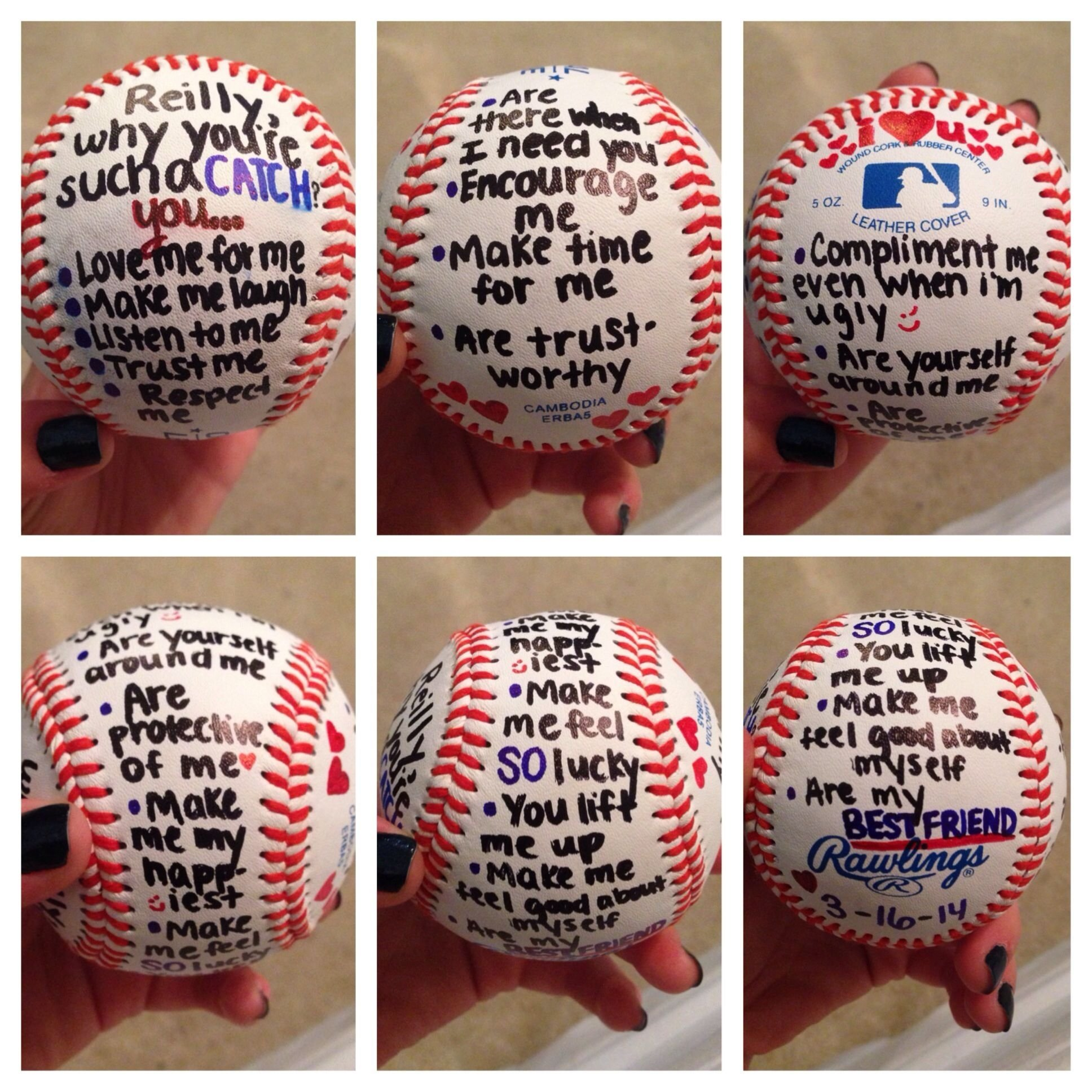10 Stunning Gift Ideas For Baseball Players gift for baseball player boyfriend stuff pinterest boyfriends 2020