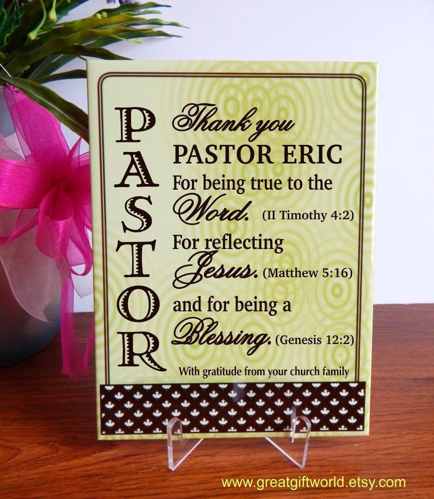 10 Fantastic Gift Ideas For Pastor Appreciation Day gift for priest gifts for pastor birthday personalized 1