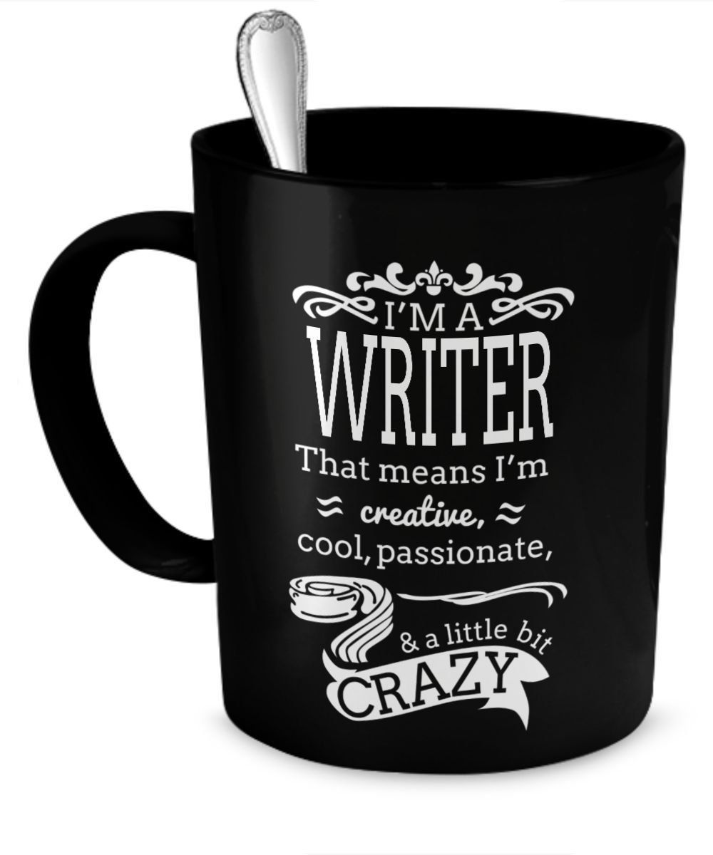 10 Trendy Gift Ideas For A Writer gift for writer im a writer mug 11oz ceramic cup for journalist 2020