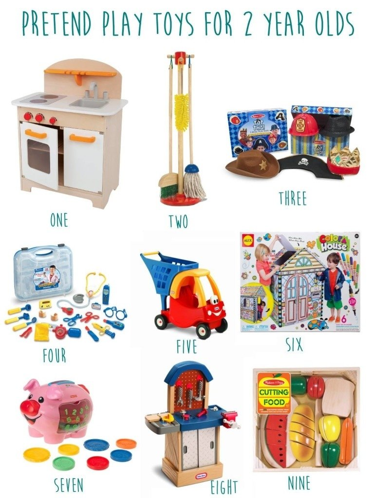 gift guide for 2 year old boys- pretend play | kids' activities