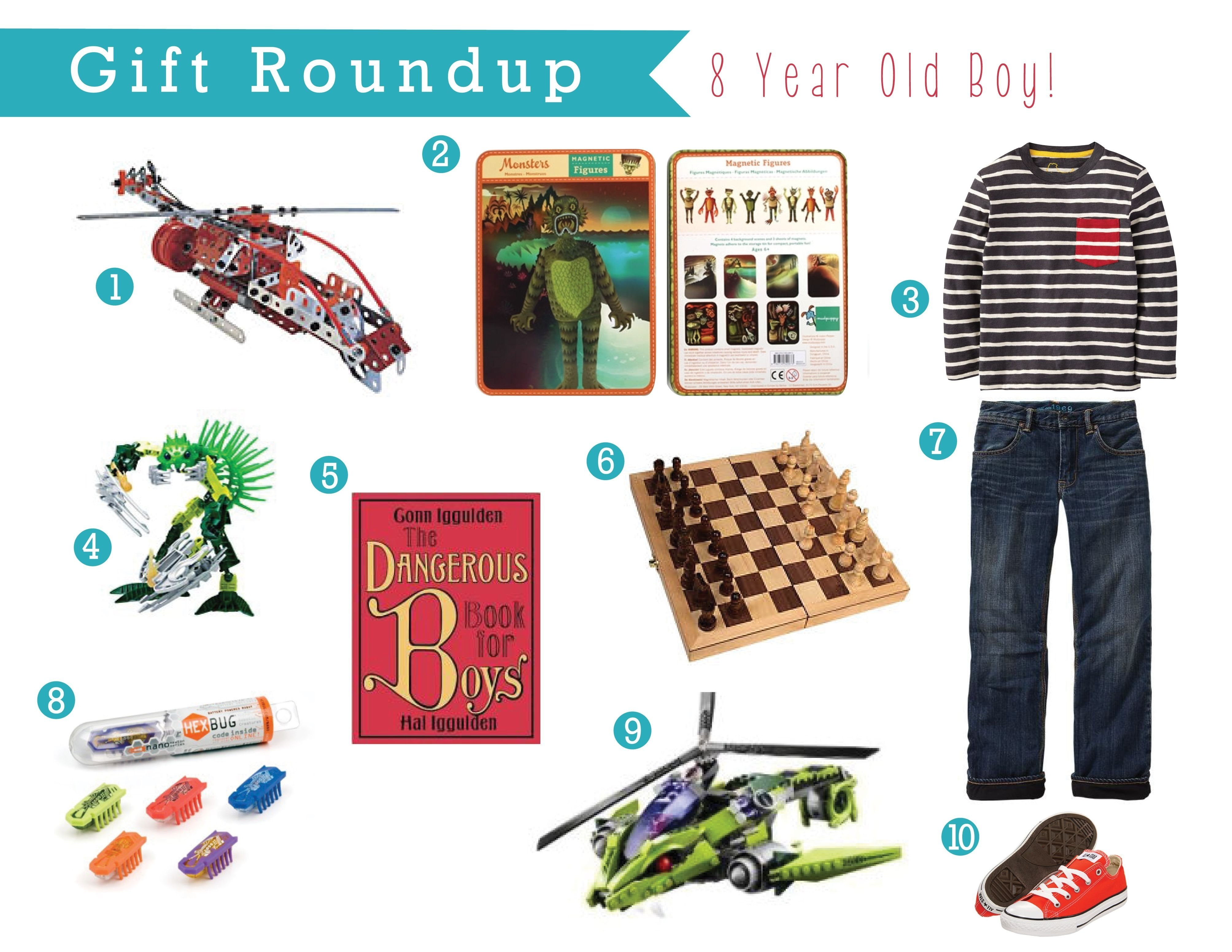10 Ideal Gift Ideas For 8 Year Old Boy gift guide for an 8 year old boy jacobs gifts pinterest gift 3 2020