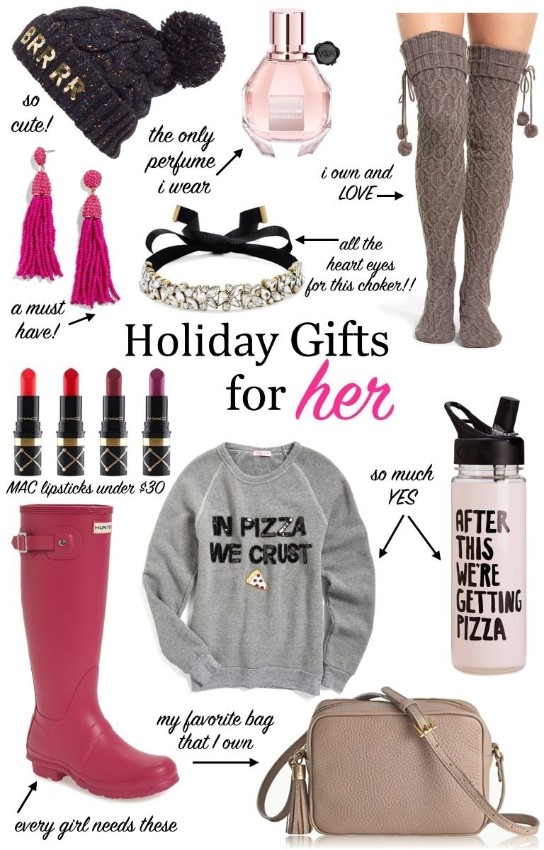 10 Cute Christmas Present Ideas For Women gift guide for her christmas gifts holiday gifts for her gifts 2021
