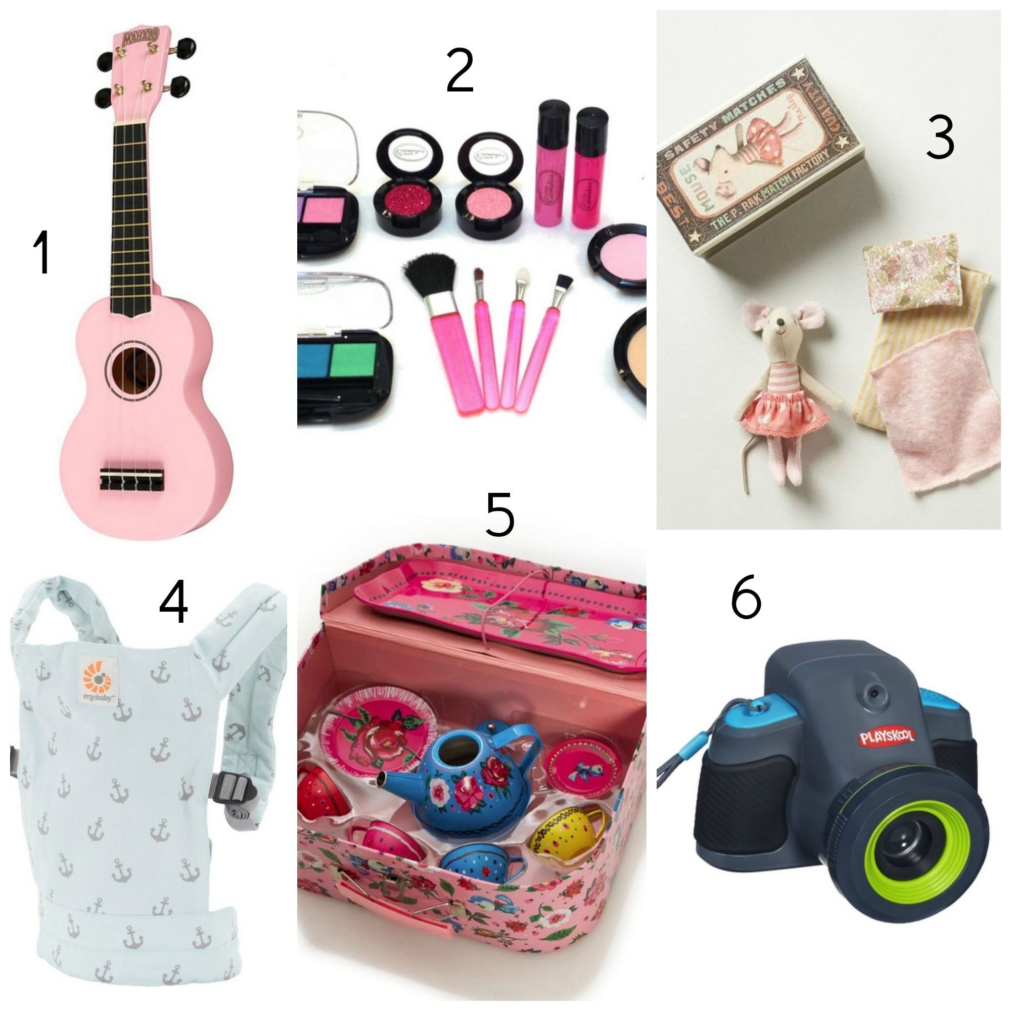 10 Trendy Gift Ideas 5 Year Old Girl gift guide for little girls 3 5 year olds pink ukulele little 1 2020