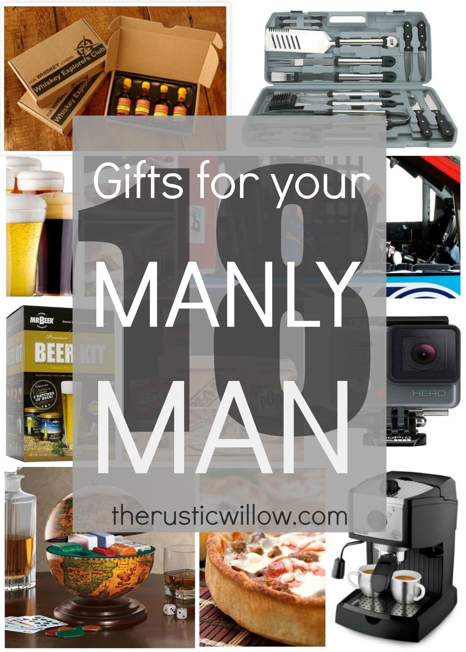 10 Elegant Food Gift Ideas For Men gift guide for men the gifts men actually want the rustic willow 1 2020