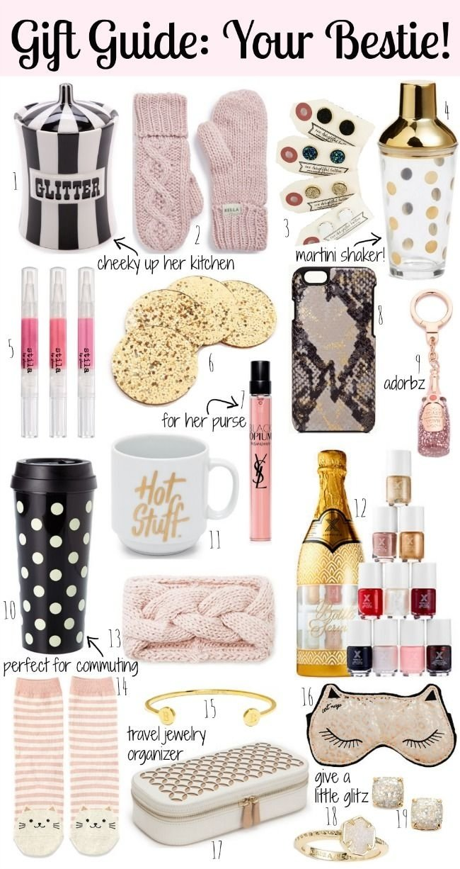 10 Stylish Christmas Ideas For College Girls gift guide your best friend under 50 southern curls pearls 2020