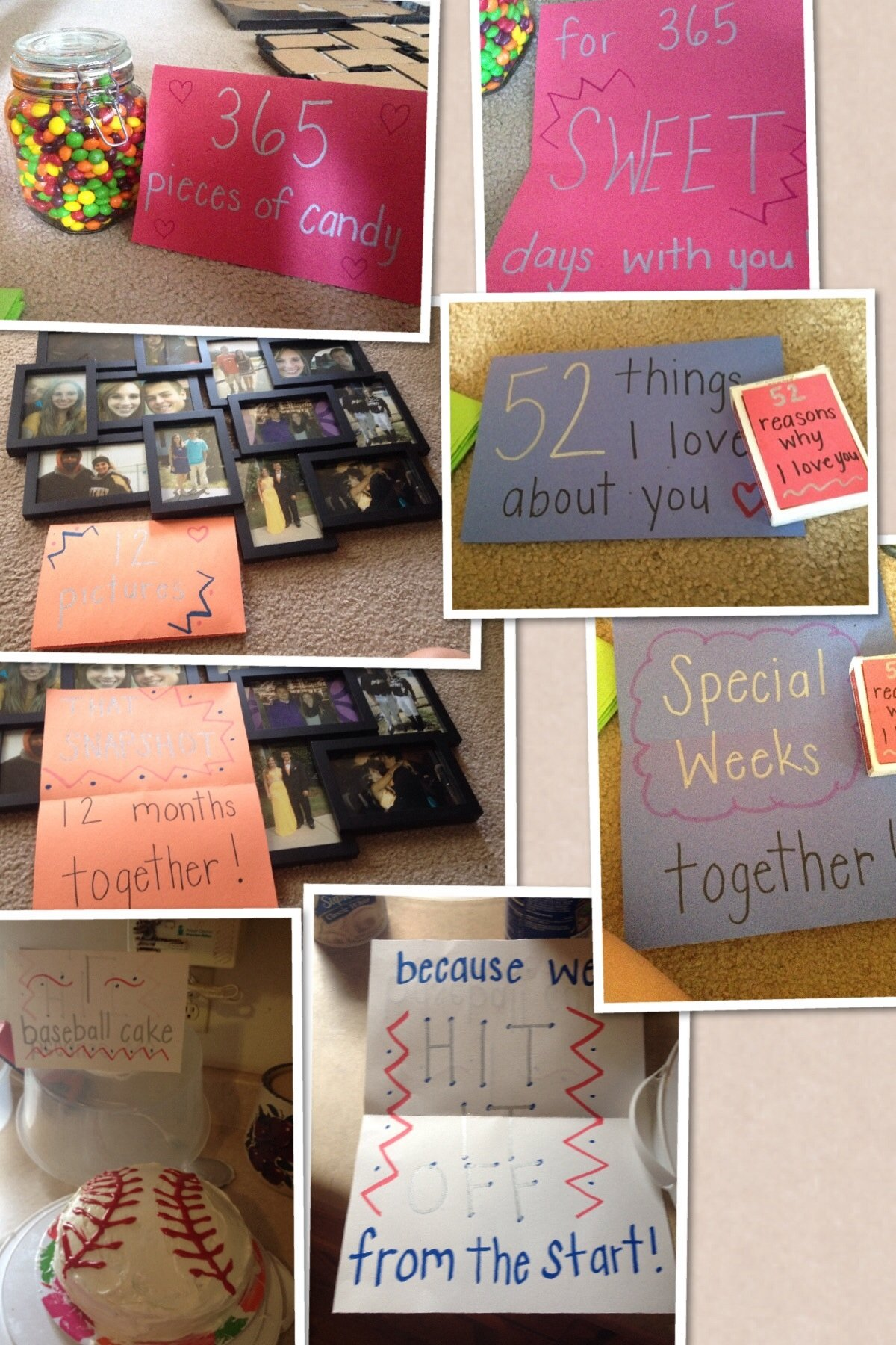 10 Fashionable One Year Anniversary Gift Ideas gift i made for our 1 year anniversary ideas pinterest 2