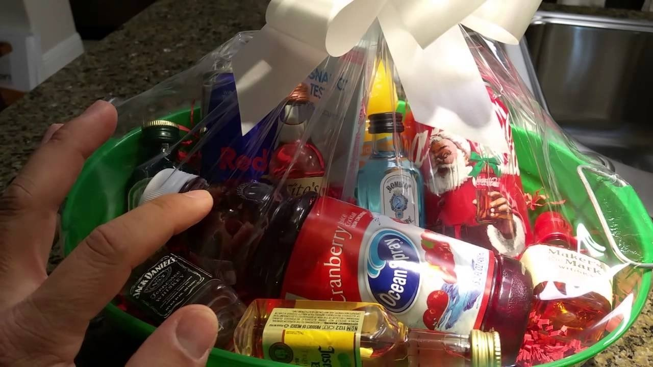 gift idea for co-workers - booze for secret santa or white elephant