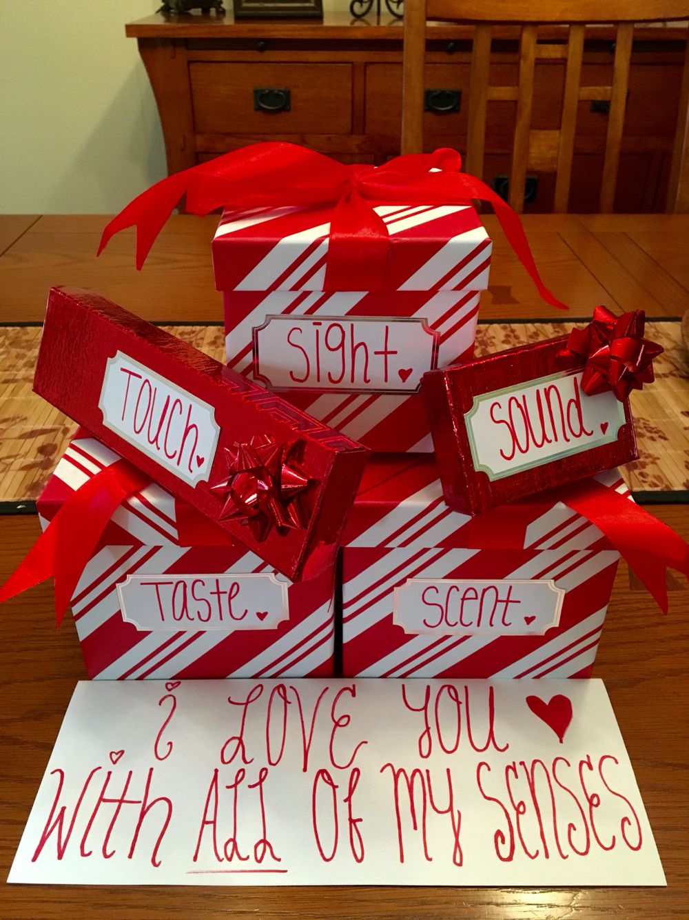 10 Spectacular Valentines Gift Idea For Him gift idea for him used the 5 senses to incorporate 5 gifts for 2 2020