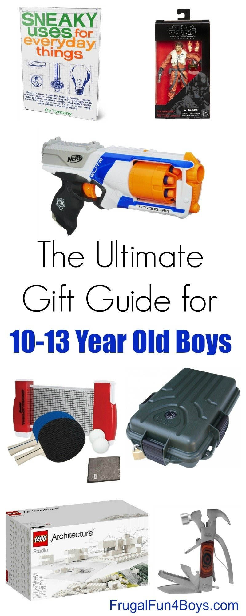 10 Most Recommended 11 Year Old Boy Birthday Gift Ideas gift ideas for 10 to 13 year old boys 38