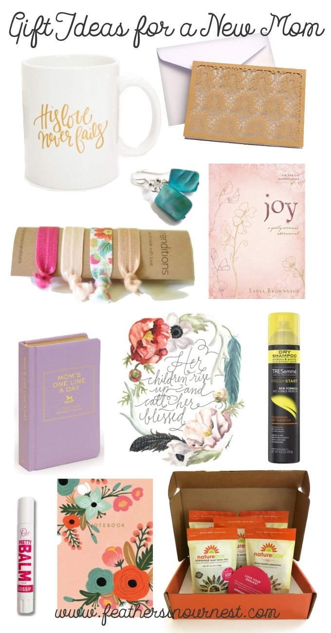 gift ideas for a new mom (that aren't baby related!)