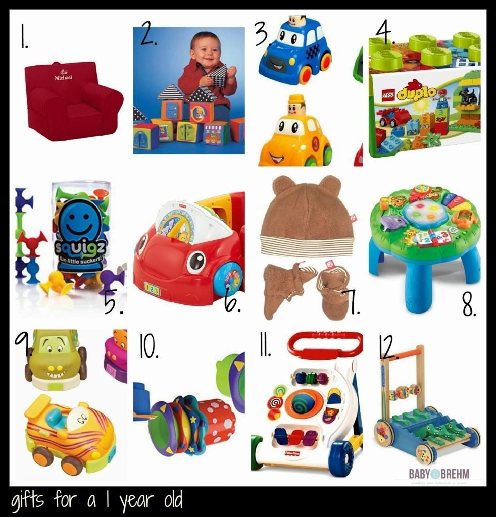 10 Ideal One Year Old Gift Ideas gift ideas for a one year old baby on the brehm 2020