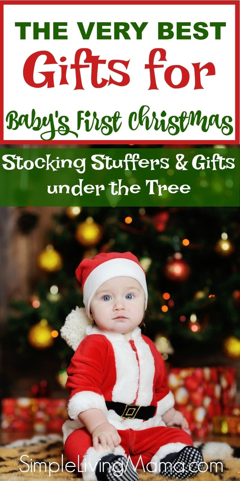 10 Ideal Baby First Christmas Gift Ideas gift ideas for babys first christmas simple living mama 2020