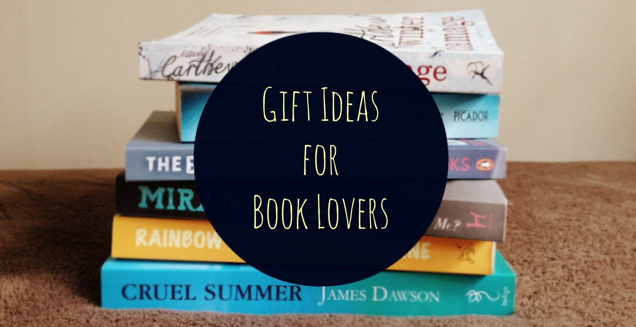 10 Spectacular Gift Ideas For Book Lovers gift ideas for book lovers a special surprise a backpack full of 2020