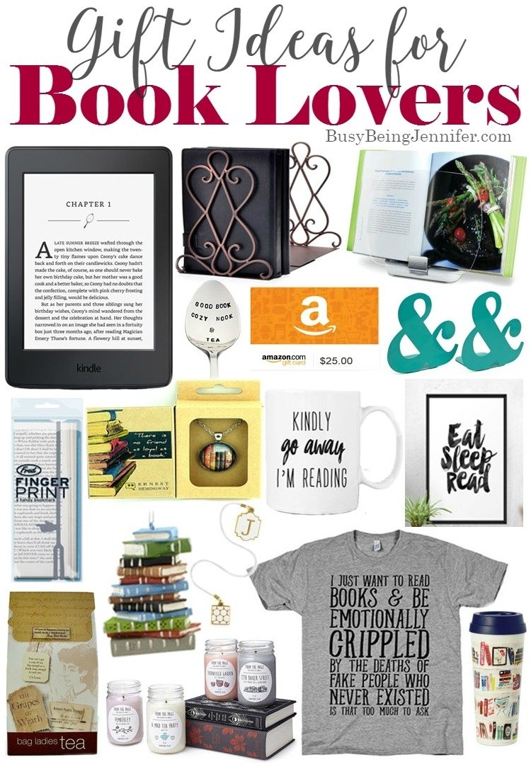 gift ideas for book lovers - busy being jennifer